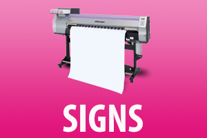 budget print center signs